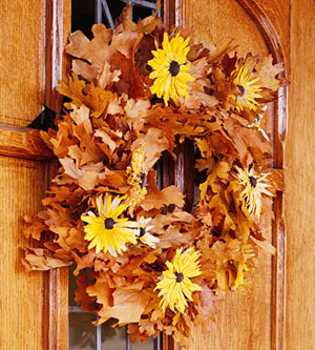 Craft Ideas Dried Roses on 15 Craft Ideas For Making Fall Flowers Wreaths