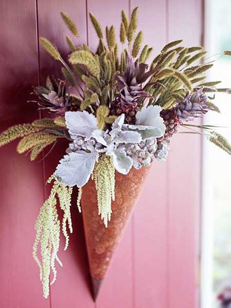 dried flower arrangements for walls or door decorating