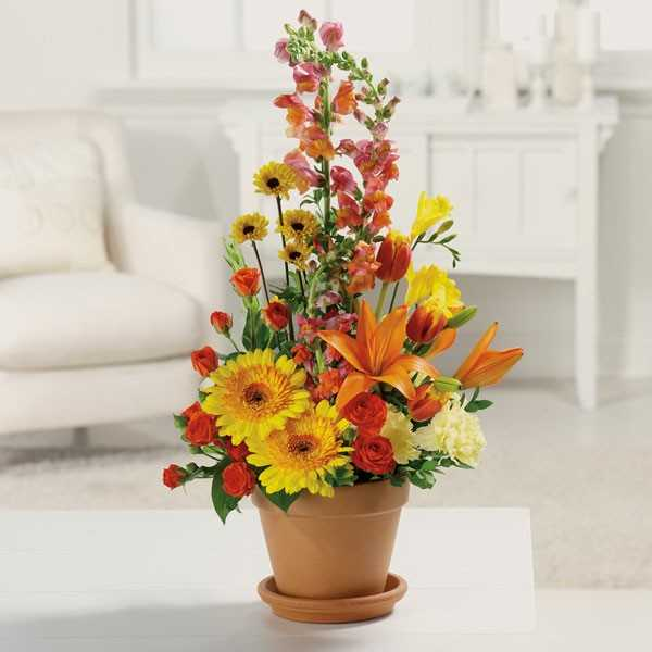 Fall flower arrangements casual cottage for Autumn flower decoration