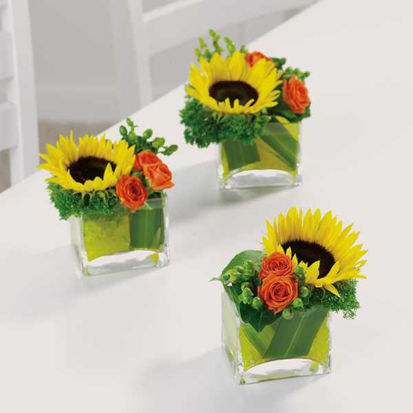 Sunflower Table Centerpieces