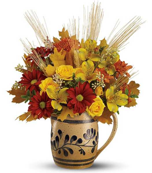 Simple Fall Flower Arrangements Make Gorgeous Party Table