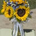 sunflower centerpiece idea