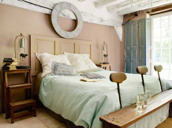 French country decorating ideas turning old mill into - Idee deco pour chambre adulte ...