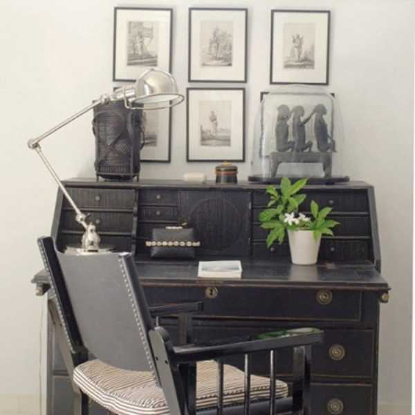 antique writing desk for small home office