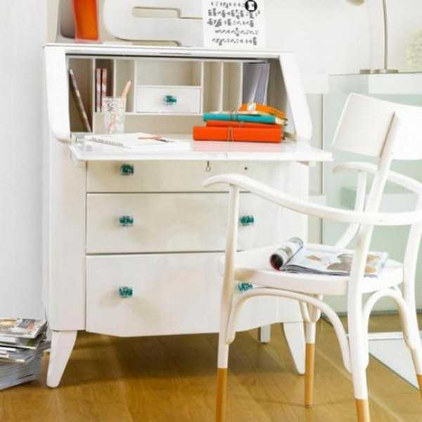 white furniture for home office
