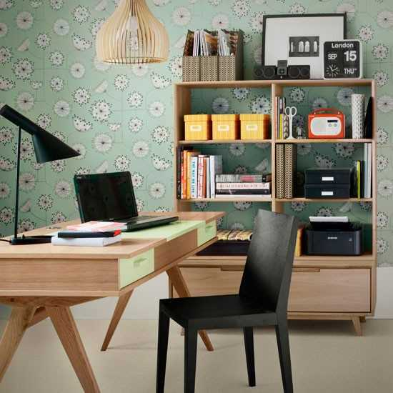 Modern Vintage Home Decor Ideas: 30 Modern Home Office Decor Ideas In Vintage Style