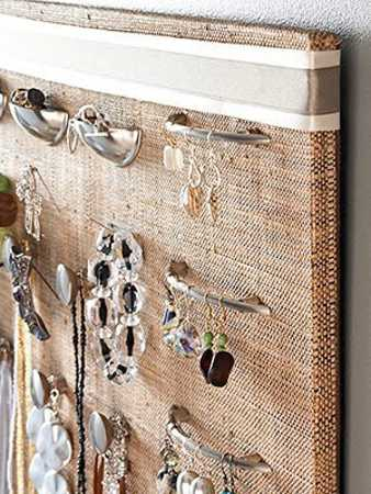 recycling fabrics for jewelry organizers