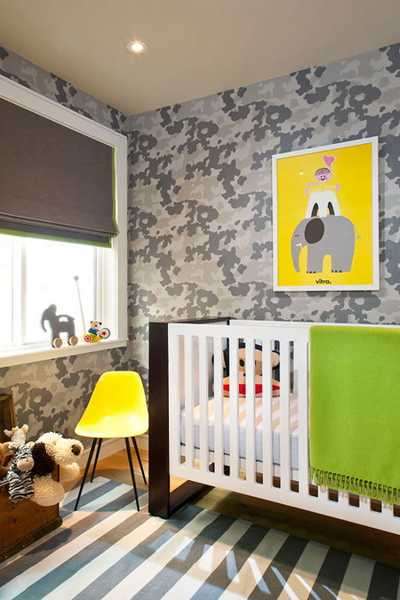 green yellow and brown room colors
