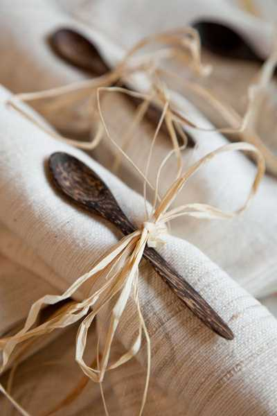 jute table decorations