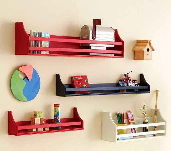 10 best kids decor accessories for functional kids room decorating rh decor4all com Boys' Bedroom Shelves wall shelves for children's bedrooms