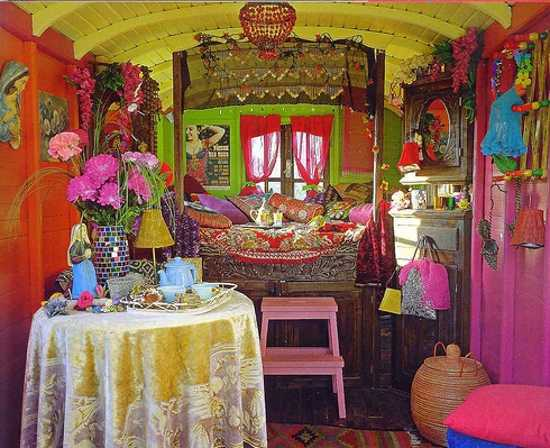 Hippie Kitchen Decor