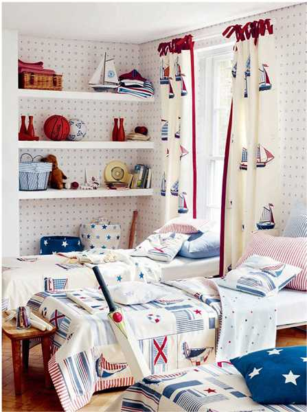 Nautical decor ideas for young sea lovers dreaming in boys for Bedroom ideas nautical