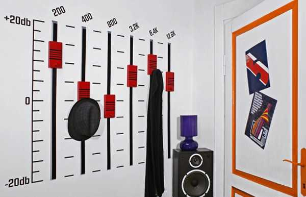 Wall Decorating With Music Theme
