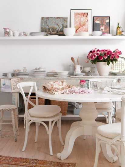 dining furniture in vintage style