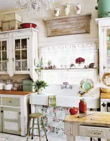 kitchen decorating ideas in vintage style