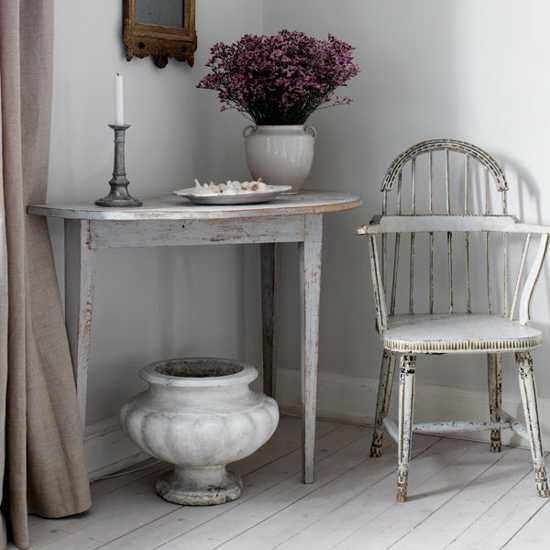 vintage furniture and decorative vases