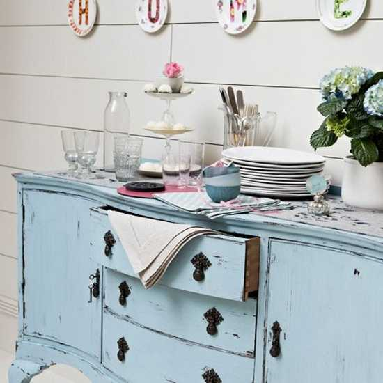 kitchen furniture in vintage style