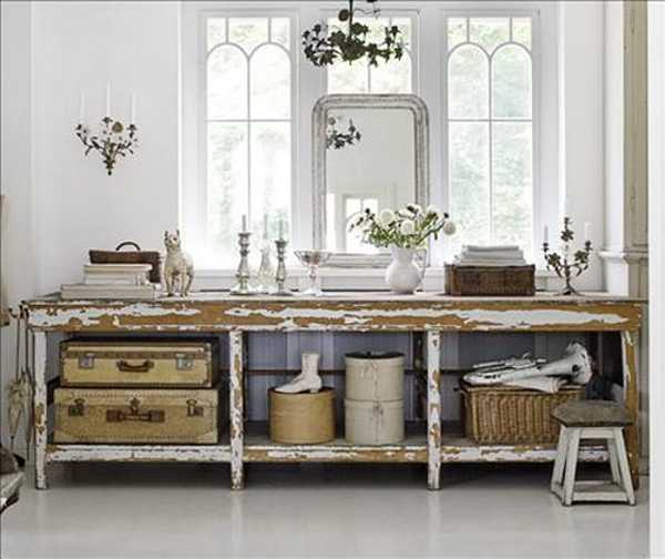 15 swedish shabby chic decorating ideas celebrating light - Shabby chic storage ideas ...
