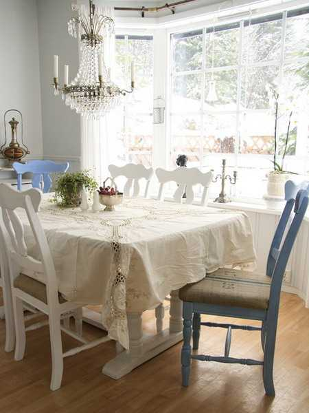 15 swedish shabby chic decorating ideas celebrating light room colors - Shabby chic dining rooms ...