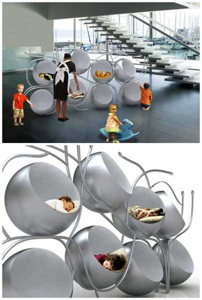 cell bed design for kids