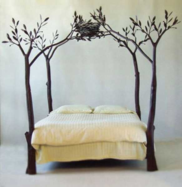 Nest On Tree Bed Design
