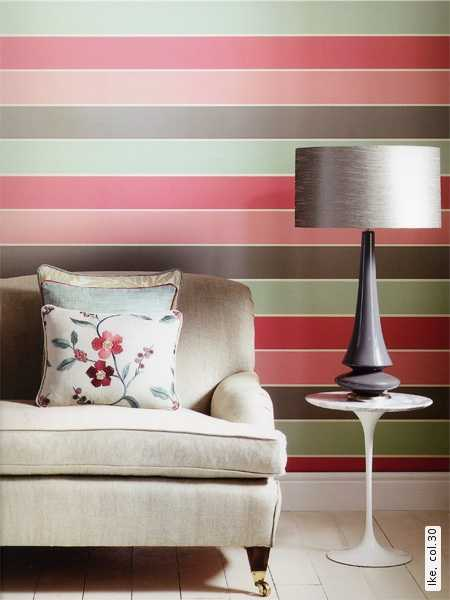 pink and brown striped wallpaper pattern