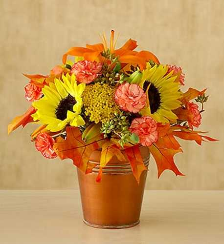 Centerpieces ideas fall flower arrangements decor