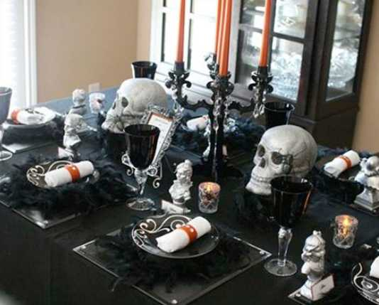 35 Superb Halloween Party Decorations and Ideas for Table ...