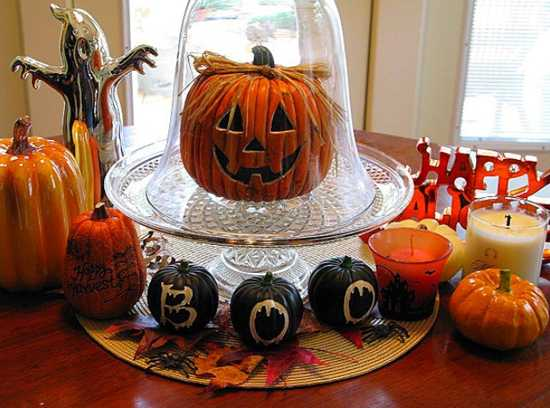 35 superb halloween party decorations and ideas for table for Halloween table centerpiece ideas