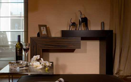 wood furniture in brown color