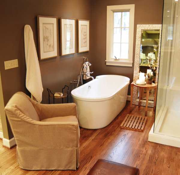 Home Design Ideas Colours: Chocolate Brown Interior Colors And Comfortable Interior