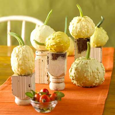 small fall table centerpieces