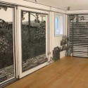 windows with landscape view drawings