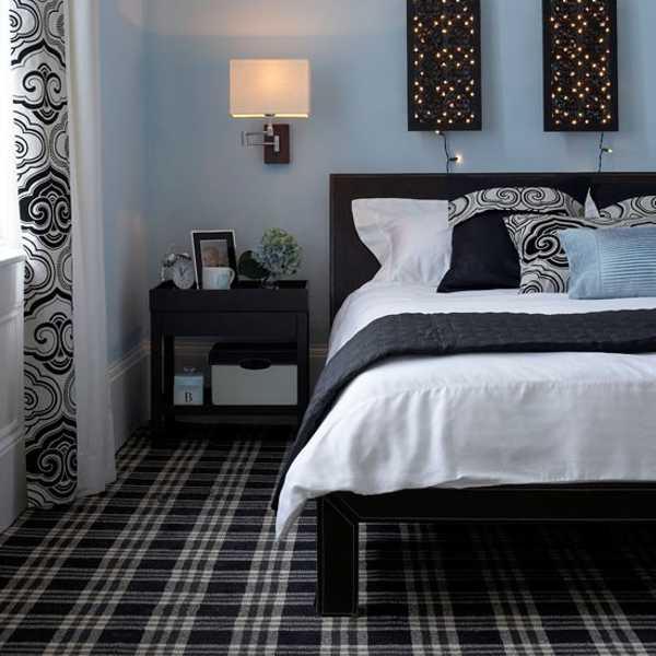 Inspiring Bedroom Design Light Blue