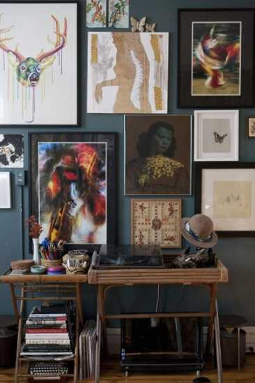 Boho chic home decorating ideas from fashion designer for Style eclectique decoration