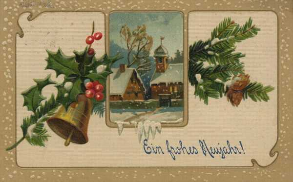 antique christmas cards