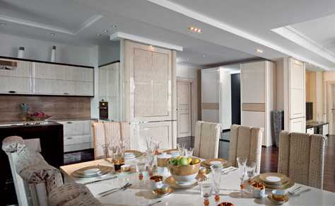dining room decorating in white colors