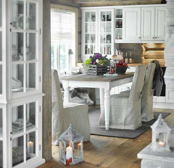 Dining Room Decorating In Country Home Style