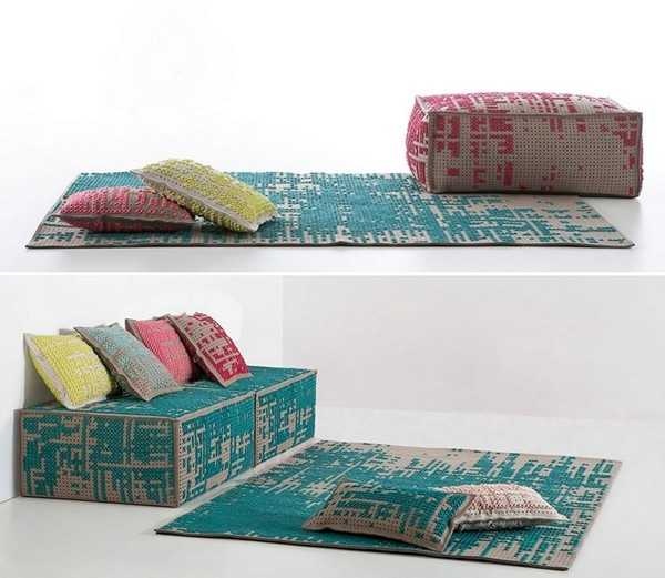 Designer Furniture With Embroidery