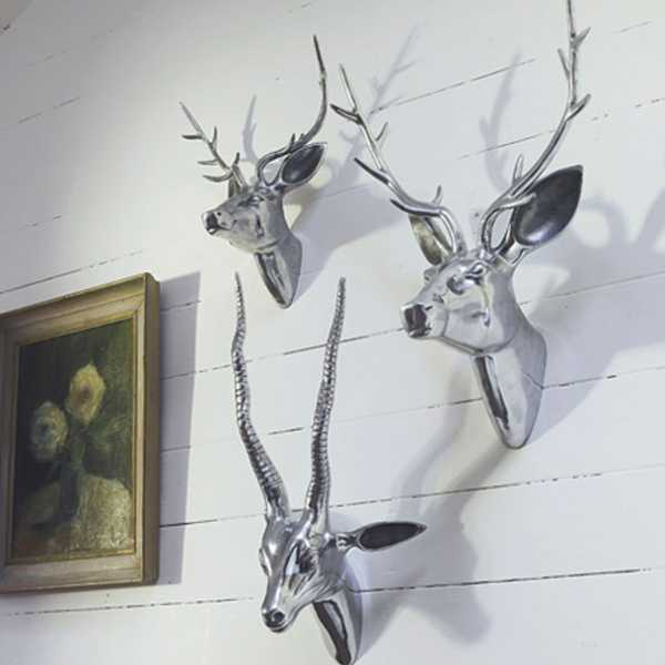 metal deer wall decorations