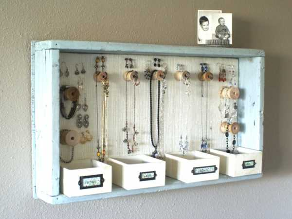 shadow box for storage and organization