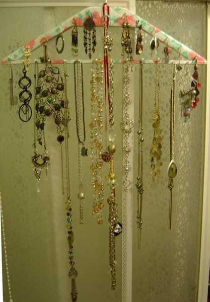 handmade jewelry organizer
