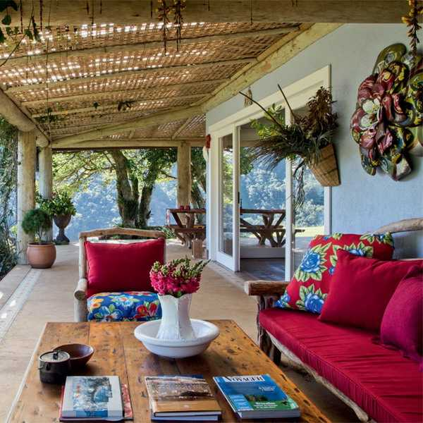 Brazilian Ethnic Interior Decorating Ideas Highlighting