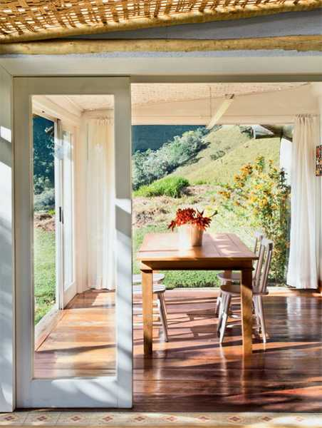 dining room on porch