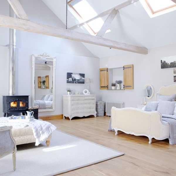 white decorating ideas bedroom furniture in french style and soft