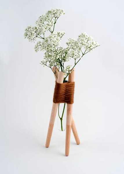 DIY Decorative Vases  Inspiration from Glass Tube Vase Designed by Aurelle  Richard. DIY Decorative Vases  Inspiration from Glass Tube Vase Designed by