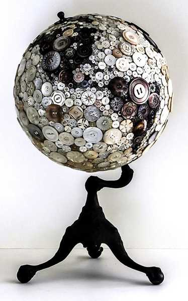 25 Recycling Ideas Turning Old Globes into Home ...