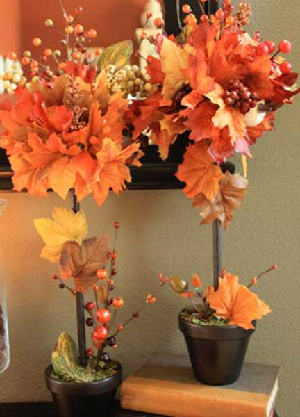 fall crafts for thanksgiving decorating