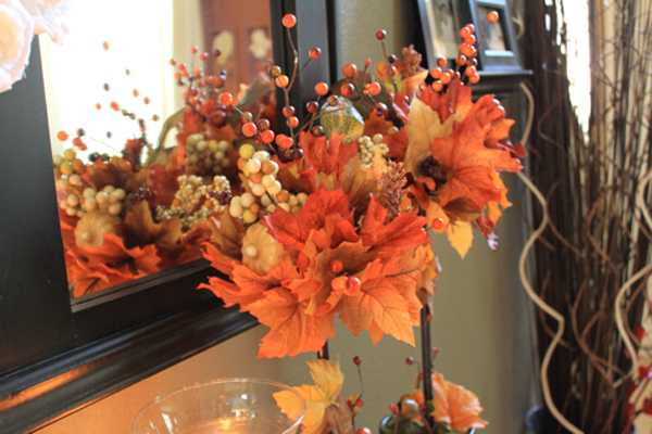 Creative Fall Crafts Autumn Leaves Tree For Thanksgiving