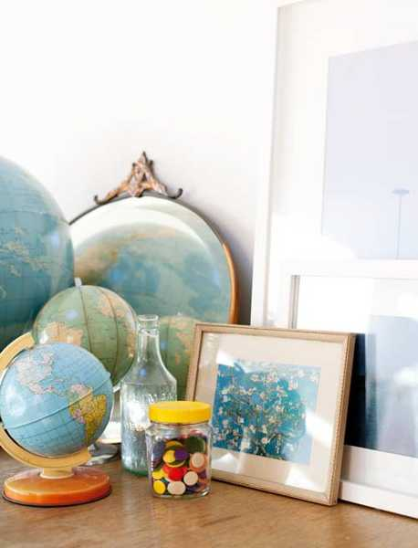 25 Recycling Ideas Turning Old Globes Into Home